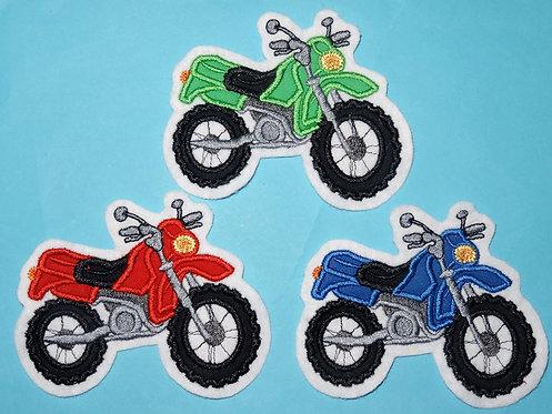 Motorrad Cross Crossmotorrad Aufnäher