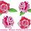 Thumbnail: Stickdatei Rosen Rose Hochzeit