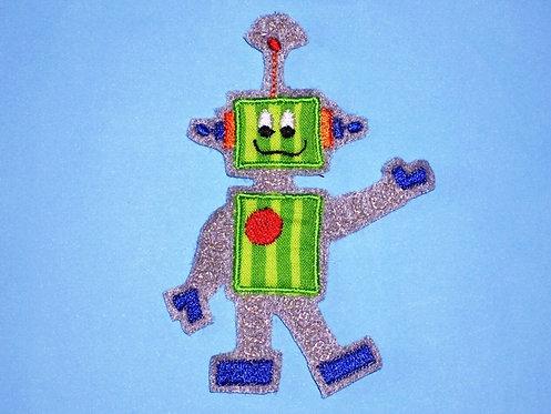 Roboter Aufnäher