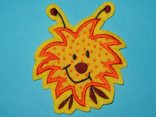 Monster Aufnäher gelb