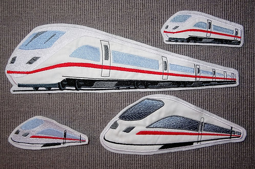 Lok Zug Schnellzug Eisenbahn Aufnäher