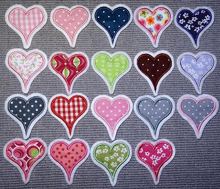 Herz in Wunschfarbe 5cm