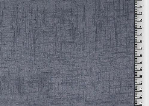 Schlicht grau etwas dunkler Strichmuster  Baumwolle Meterware Webware uni