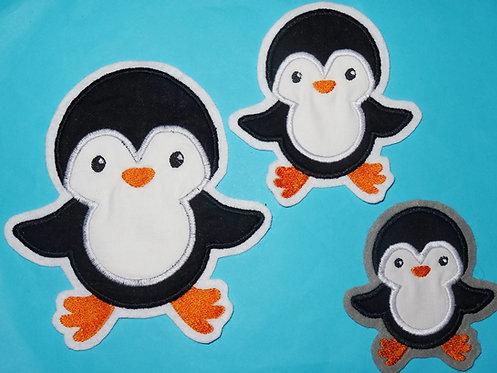 Pinguin Aufnäher