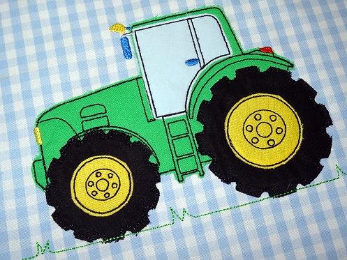 Stickdatei Doodle Traktor