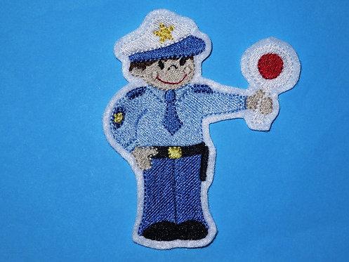 Polizist Aufnäher