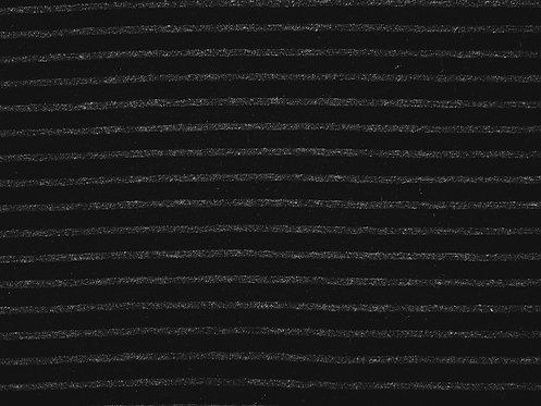 Jersey Streifen schwarz grau Meterware gestreift Ringel