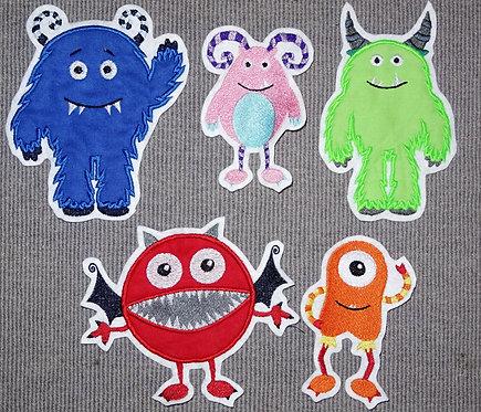 Monster in Wunschfarbe