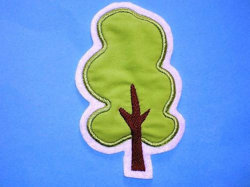 Baum  Eiche Aufnäher