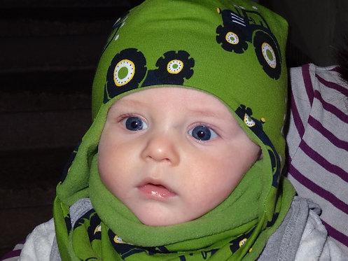 Babymütze und Kleinkind Mütze zum wenden