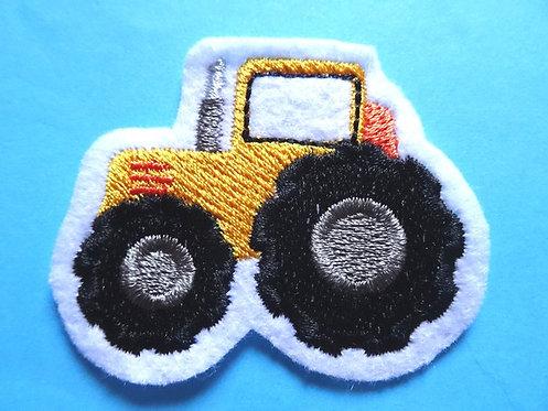 Mini Traktor Aufnäher