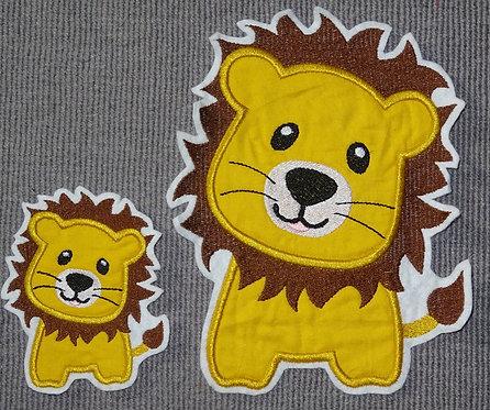 Löwe Aufnäher Applikation