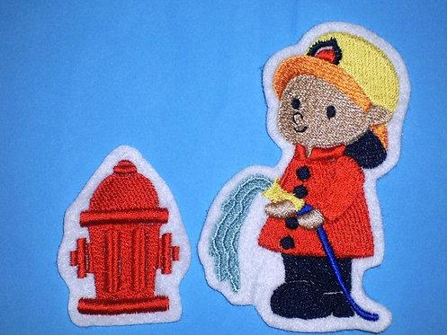 Feuerwehrmann Aufnäher