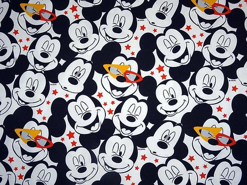 Mickey Mouse Jersey Disney Meterware Maus Baumwolljersey