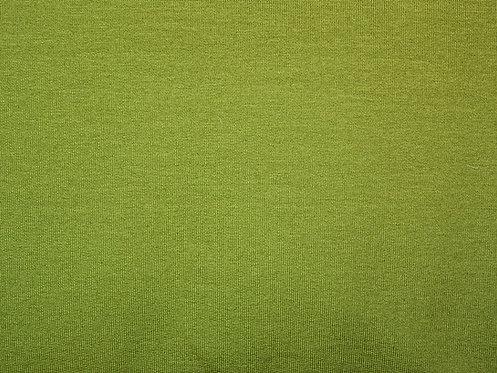 Sommersweat French Terry Sweat uni oliv Meterware