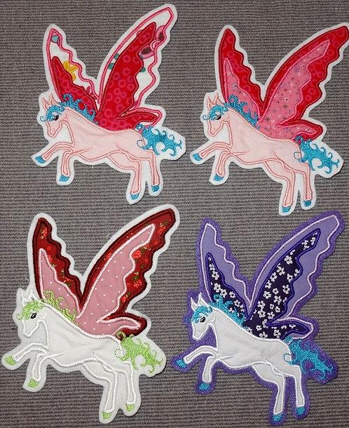 Pegasus Aufnäher Applikation