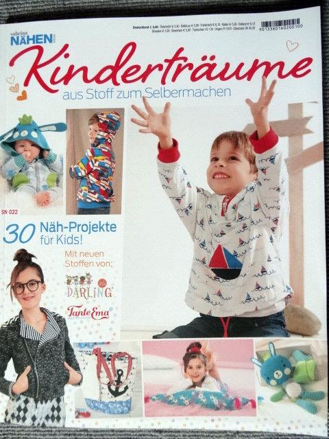 Sabrina nähen Kinderträume Baby & Kids 30 Projekte Schnittmuster Zeitung