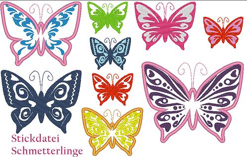 Schmetterling Stickdatei MEGA SET