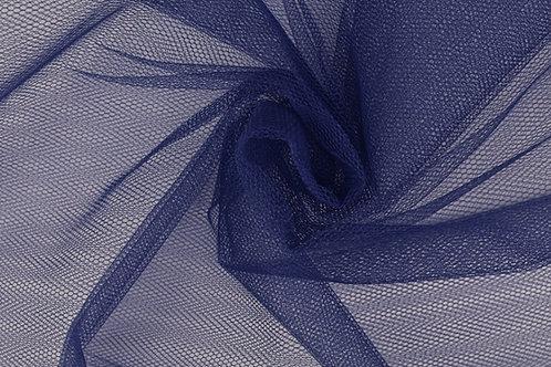 Tüll blau für Schultüte Meterware