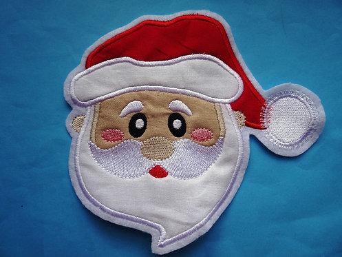 Weihnachtmann Aufnäher