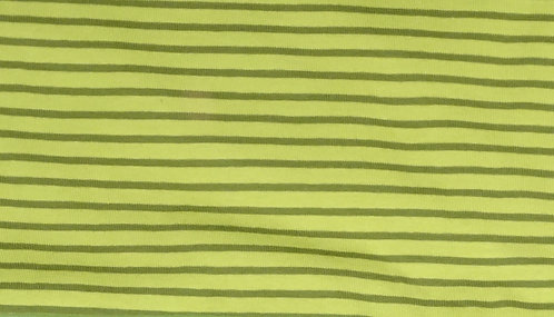 Campan Jersey Streifen hellgrün oliv Meterware gestreift Ringel