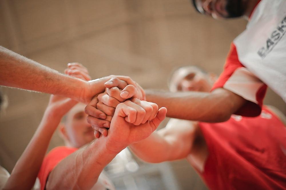team sport - sports buddy - teamwork