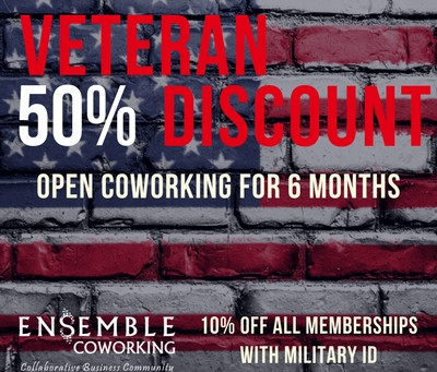 Veterans Enjoy 50% Discount