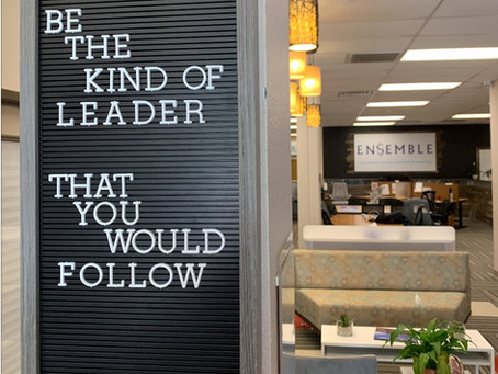Be the Kind of Leader You Would Follow