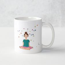 Mug méditation aux étoiles