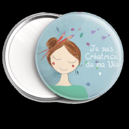 """Miroir de poche"""" Amour de soi"""""""