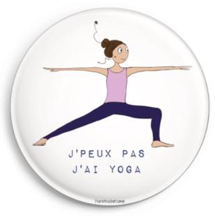 """J'peux pas j'ai yoga  """"Ema"""""""
