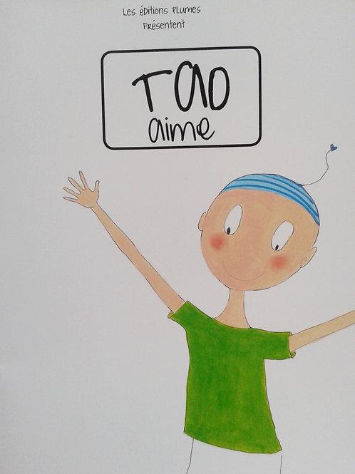 """Livre enfants  """" Tao aime"""""""