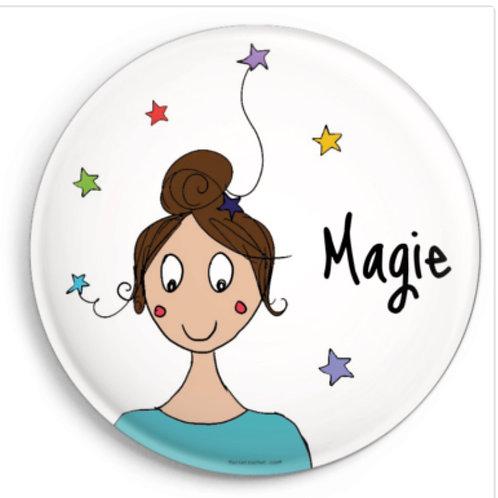 Magnet*Mot doux illustré