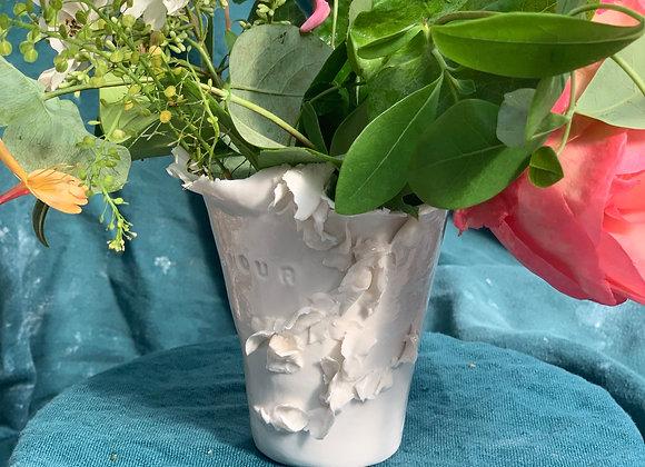 "Vase "" Amour """