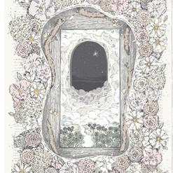 Illustration for Amarin Publishing (Book Wreath).