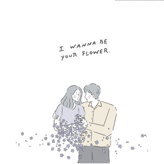 """Book Illustration for """"I wanna be your Flowers"""". - Itsaya (Nasacantchangeanything)"""