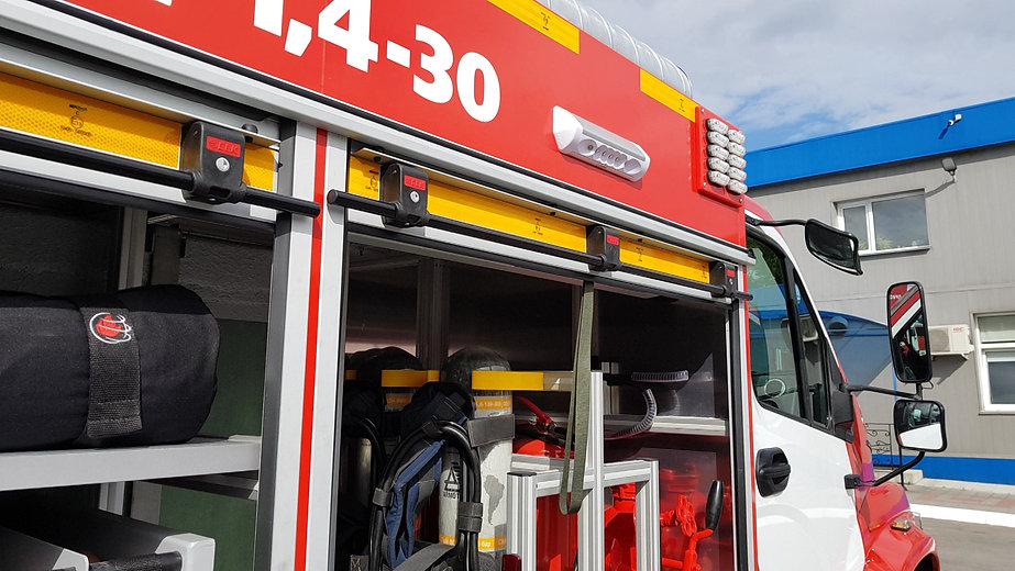 Рольставни жалюзи для пожарных автомобилей