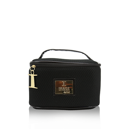Limited edition beauty mesh train case