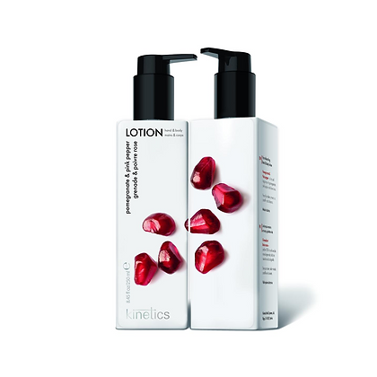 Kinetics Hand & Body Lotion Pomegranate  and Pink Pepper - 250 ML
