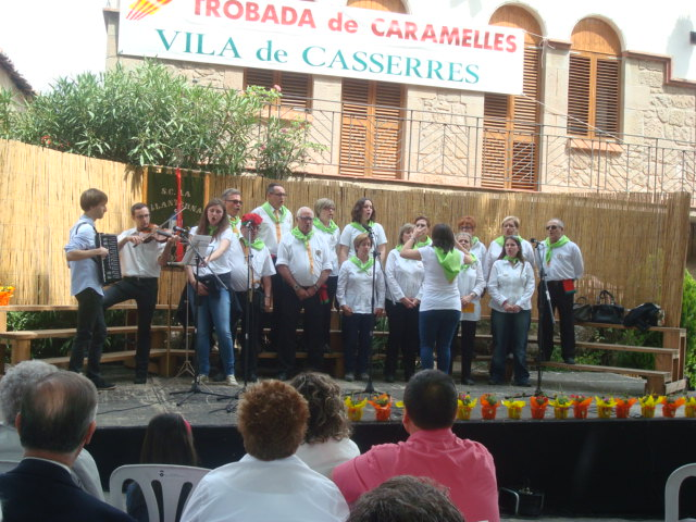 Trobada Caramelles Casserres 2014