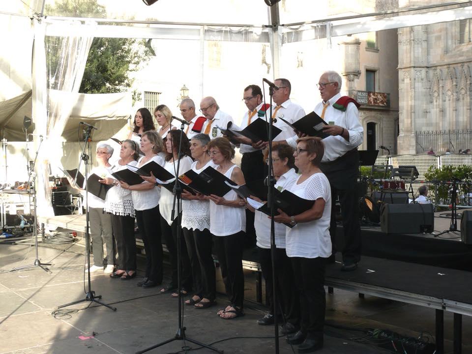 Concert cors de Clavé (Mercè 2018)