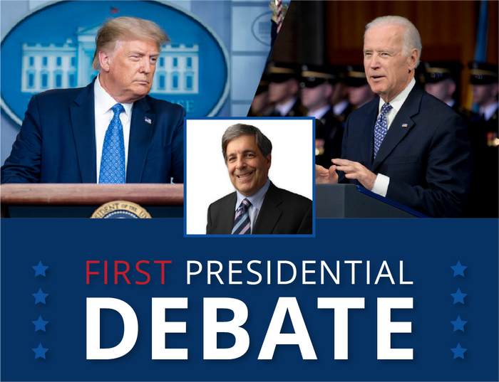 Larry Ceisler's opinions during the Presidential Debate