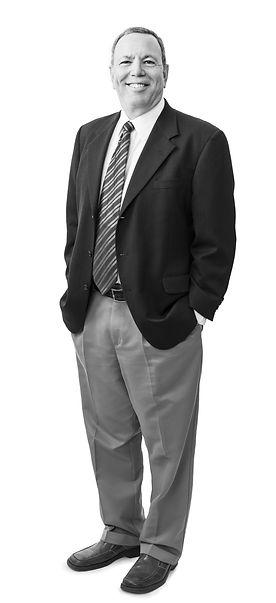 Bruce Kaplan standing