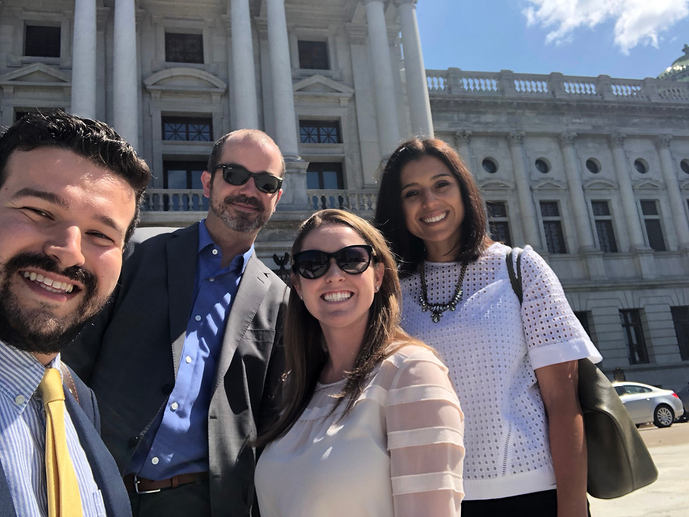 Ceisler Media visits the Pa. State Capitol with Immigration Hub