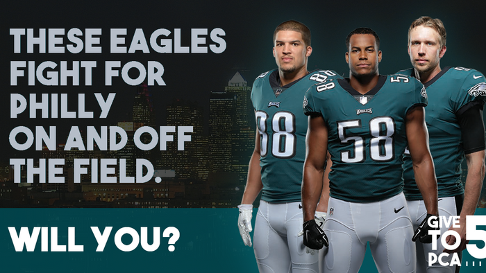 As the Eagles Gained Momentum, so did this Charitable Giving Campaign
