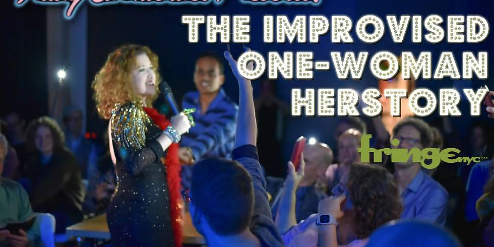 Trudy Carmichael Presents: The Improvised One-Woman Herstory