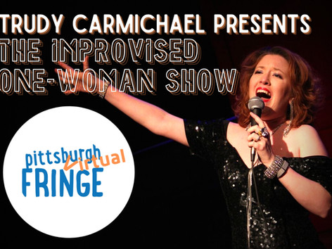 TRUDY PUTTING ON THE RITZ FOR THE PITTSBURGH FRINGE!
