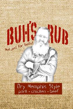 Buh's Rub Logo