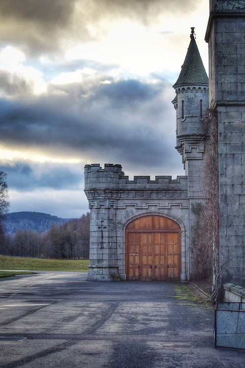 Balmoral Castle - Limited Edition A3 Mounted Print
