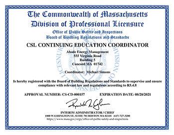 2019 Coordinator Certificate CD-0157-pag